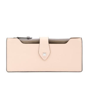 LODIS MULTI POUCH LEATHER WALLET BLUSH/TAUPE